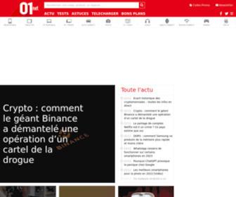 01net.com - 01net.com - Actualité High Tech, Tests produits & téléchargements