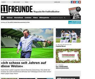 11freunde.de - Startseite | 11 Freunde