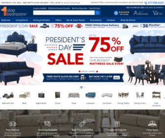 1stopbedrooms.com - 1StopBedrooms | Buy Bedroom Furniture Sets | Free Delivery