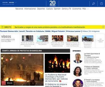 20minutos.es - 20minutos.es - El medio social - Última hora, local, España y el mundo