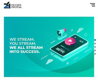 24framesdigital.com - Live Webcast & Streaming Services in Mumbai, Delhi, India