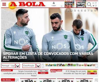 Abola.pt - A BOLA - Homepage