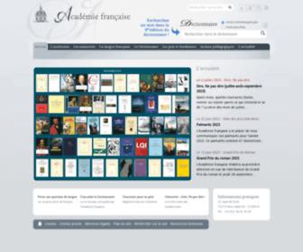 Academie-francaise.fr - Académie française |