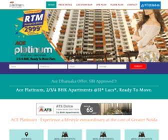 Aceplatinum.net.in - ACE Platinum Greater Noida | 9711836846 | Ready To Move Flats
