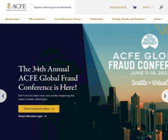 Acfe.com - Association of Certified Fraud Examiners
