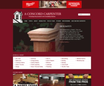 Aconcordcarpenter.com - A Concord Carpenter
