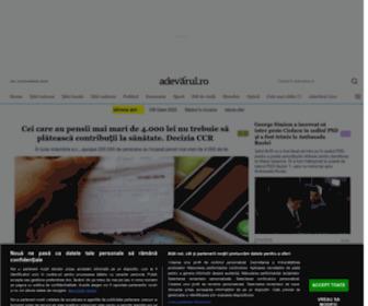 Adevarul.ro - Stiri, ultima ora, stiri locale, video, foto, comunitate | adevarul.ro