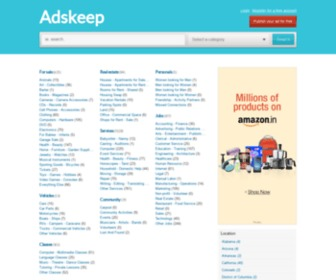 Adskeep.com - Adskeep.com Best Free classified Site USA INDIA UK UAE Saudia Africa