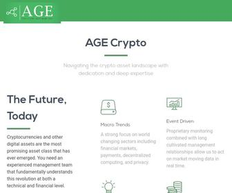 Age crypto asset investment fund
