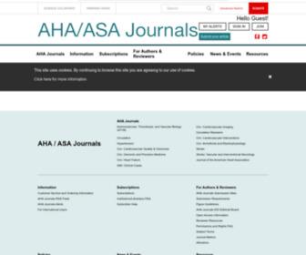 Ahajournals.org - American Heart Association Journals