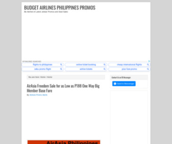 Airphilexpress.ph - Airphil Express Philippines — Airphil Express Promo 2012, Airphil Express Airlines News