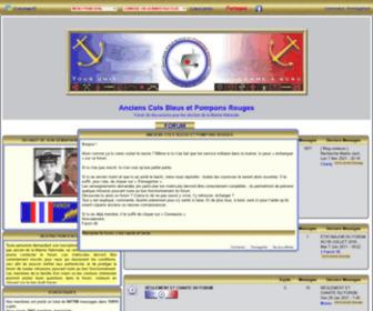 Anciens-cols-bleus.net - Anciens Cols Bleus et Pompons Rouges