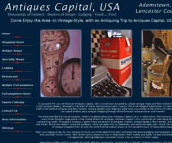 Antiquescapital.com - Antiques Capital, USA in Lancaster County, PA