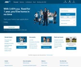 Anz.co.nz - ANZ Bank New Zealand Ltd | Online Banking | ANZ