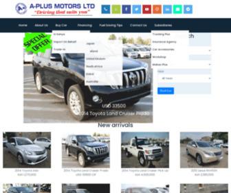 Aplusmotors.biz - Aplus Motors Limited