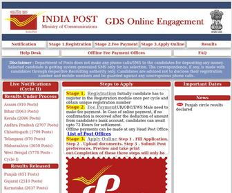 Appost.in - Welcome to AP Post Circle Online Recruitment