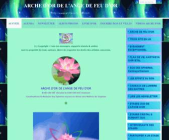 Archedefeudor.com - ARCHE D'OR DE L'ANGE DE FEU D'OR