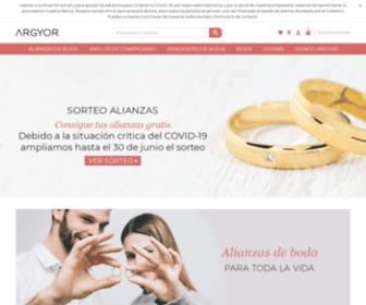 Argyor.com - Argyor. Diseño y fabricación de Joyería