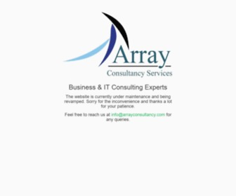 Arrayconsultancy.com - Home | Array Consultancy Services - Business & IT Consulting Experts