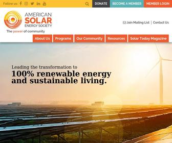 Ases.org - American Solar Energy Society