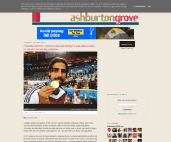 Ashburtongrove.co.uk - Ashburton Grove -  Arsenal news and Arsenal opinion