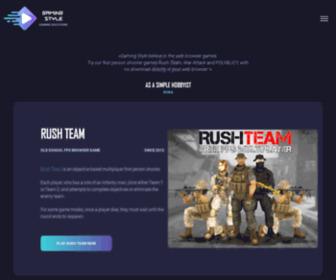 Asr-games.net - Official Rush Team Free FPS Multiplayer Game Website