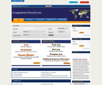 Assignmentsabroad.com - :: Jobs in UK,Saudi Arabia,UAE,Oman,USA,Singapore,Malaysia,Ireland ::