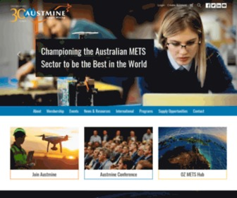 Austmine.com.au - Austmine | Mining Equipment, Technology and Services (METS) Sector > Home