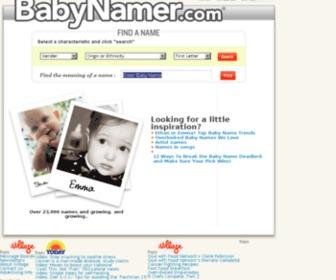 Babynamer.com - BabyNamer: Baby Names and Meanings