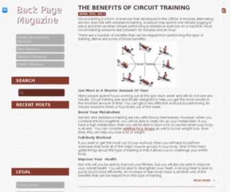 Backpagemagazine.com - News of the 21st Century | BPMagazine