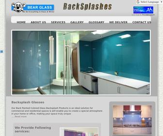 Backsplashes.us - Bear glass back painted colored glass is an ideal solution for commercial and residential spaces