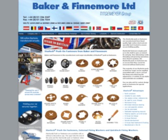 Bakfin.com - Starlock Push On Fasteners from Baker and Finnemore