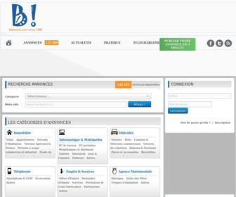Ballouchi.com - Ballouchi.com : Tunisie Annonces Immobilier Multimedia GSM Mariage Animaux et autres...