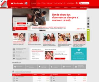 Bancosantander.cl - Personas - Banco Santander Chile