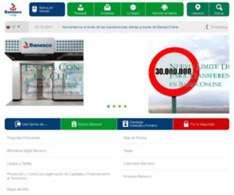 Banesconline.com - Banesco Banco Universal