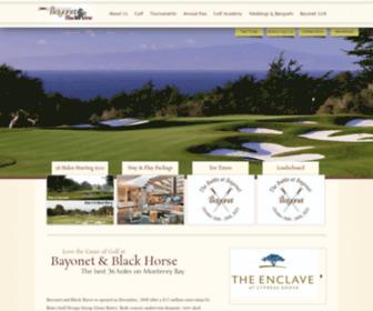 Bayonetblackhorse.com - Bayonet BlackHorse : The Best 36 Holes on Monterey Bay
