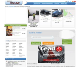 Bazaronline.ro - Bazar anunturi gratuite auto imobiliare jobs telefoane|Fondat 2006