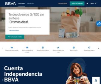 Bbvacontinental.pe - BBVA Continental – Bancos, Cuentas de ahorro, Tarjeta de crédito, Créditos personales, vehicular, hipotecario.