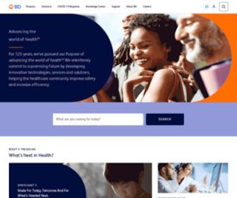 Bd.com - BD Medical Technology, Advancing the World of Health - BD