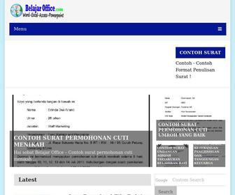 Belajaroffice.com - Belajar Office - Tutorial Belajar Ms Office