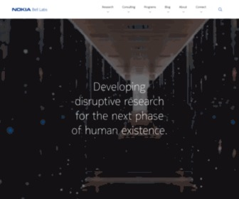 Bell-labs.com - Redefining Our Relationship with Information - Bell Labs
