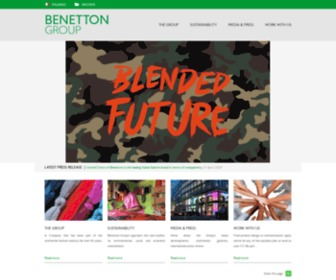 Benettongroup.com - Benetton Group - Corporate Website
