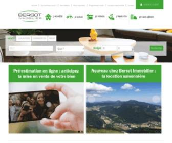 Bersot.net - Bersot immobilier : maisons et appartements à Besançon, Franche-Comté et haute-Savoie
