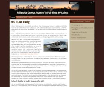 Bestrvliving.com - Best RV Living | Join Us As We Venture To Full Time RV Living