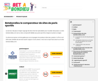 Betabondieu.com - Free sports betting website to practice and win prizes | Betabondieu