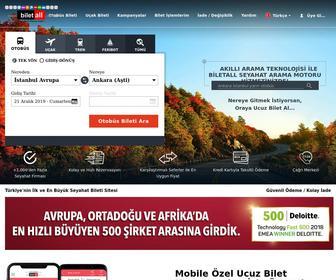 Biletall.com - Otobüs Bileti, Uçak Bileti Rezervasyon ve Satışı - Bilet All