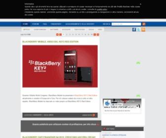 Blackberryitalia.it - BlackBerry - BlackBerryitalia.it - la risorsa italiana per il blackberry - pagina 1