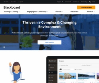 Blackboard.com - Blackboard | Education Technology & Services