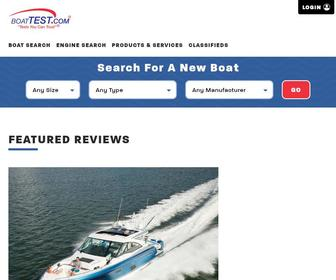 Boattest.com - Boat reviews tests yachts review Specifications comparison Bowrider Center Console Pontoon sportboat Cruiser boat values Ratings Performance Top Speed Engines tests|BoatTEST.com
