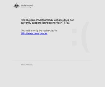 Bom.gov.au - Australia's official weather forecasts & weather radar - Bureau of Meteorology